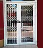 Раздвижная решетка на дверь Шир.2180*Выс2800мм для салона красоты