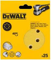 Шлифовальный круг DeWalt DT3135XM, d=150мм, зерно 120, 25 шт.
