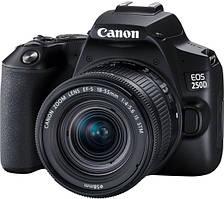 Цифрова дзеркальна фотокамера Canon EOS 250D Kit 18-55 IS STM Black