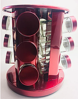 BN-142-9 (9) Набор для специй кругл. подст. 13 пр. 3 цвета
