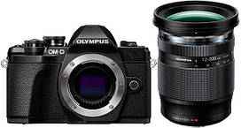 Цифрова камера Olympus E-M10 mark III 12-200 Kit Black/Black