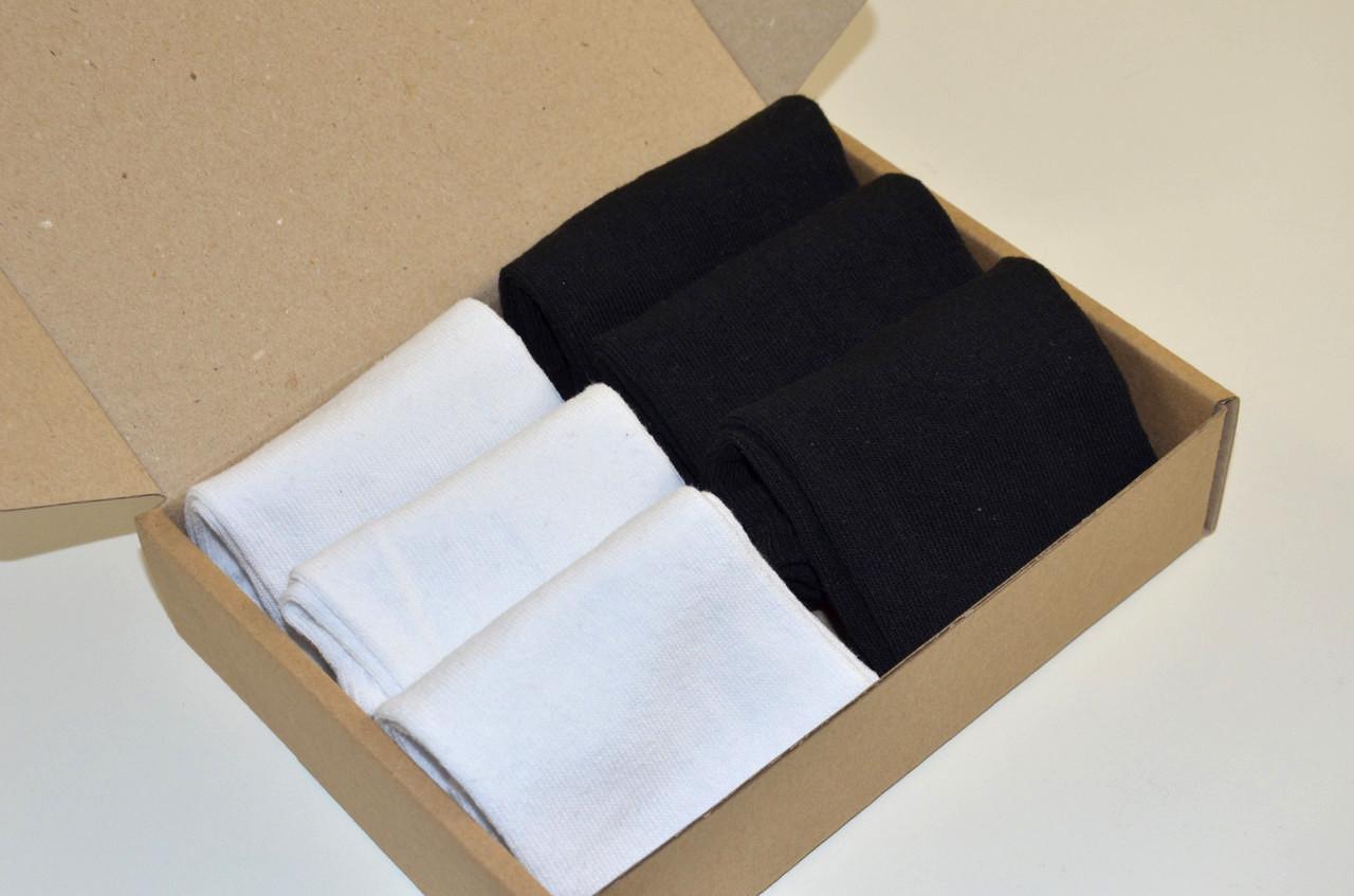 Чоловічі шкарпетки укорочені , Набір №086 - 6 пар в комплекті, р. 39-43