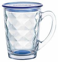 Чашка с крышкой Luminarc New Morning Diamond Blue