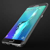Чехол бампер металл Luphie Rapier Series для Samsung Galaxy S6 Edge+ G928 черный