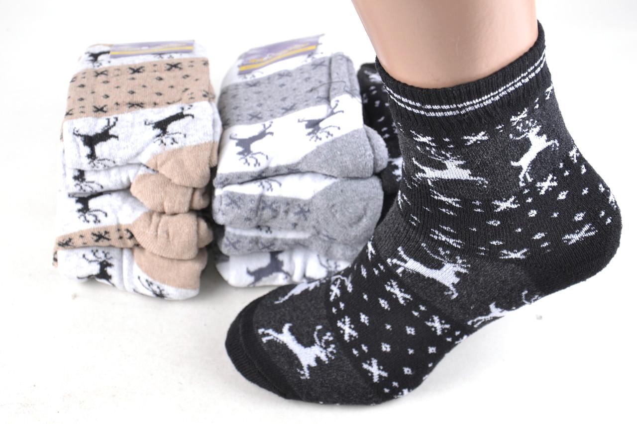 """Женские махровые носки """"Житомир"""" с высокие в упаковке 6 штук."""