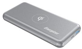 Портативное зарядное устройство Energizer QE10007PQ-10000mAh Qi wireless TYPE-C PD Gray