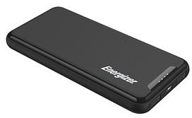 Портативное зарядное устройство Energizer UE10052-10000 mAh Li-pol+TYPE-C Black