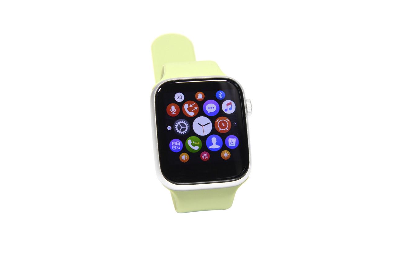 Умные часы Smart Watch T500  (фитнес-браслет, смарт часы) зелёные