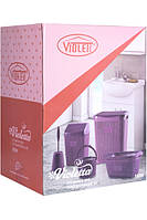 Набор для ванной 5в1 Violet House Виолетта Coffee