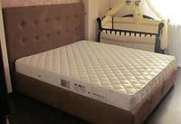 Двуспальные кровати с мягким изголовьем, мягкая мебель для спальни от производителя купить Украина Киев