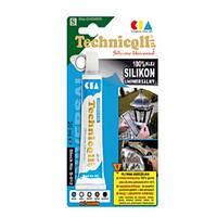 "Герметик-прокладок  20g  Grey ""Technicoll"" S-065 / клеит стекло,керамика,метал,пластмас,+170°С"
