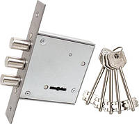 Врезной сувальдный замок для входных дверей BRUNO ЗВ8-8Д (39582)