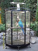 Вольер Угловой для птиц. (Zolotaya Kletka), фото 1