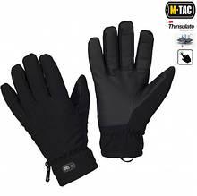 M-Tac перчатки Soft Shell Thinsulate Black L