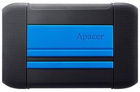 HDD накопичувач Apacer AC633 1TB (AP1TBAC633U-1) USB 3.1 Blue