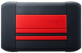 HDD накопичувач Apacer AC633 2TB (AP2TBAC633R-1) USB 3.1 Red