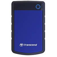 Накопичувач HDD Transcend StoreJet 25H3 2TB (TS2TSJ25H3B) USB 3.0 Blue