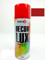 """Краска 450ml  """"Nowax""""  красный сигнальный  NX48023   (12шт/уп)"""