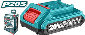 Аккумулятор TOTAL TFBLI2001 Li-ion 20В, 2А.
