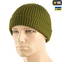 M-Tac шапка вязаная 100% акрил Olive L/XL