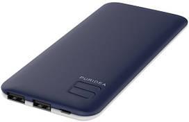 Портативное зарядное устройство Puridea S4 6000mAh Li-Pol Rubber Blue & White