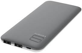 Портативное зарядное устройство Puridea S4 6000mAh Li-Pol Rubber Grey & White