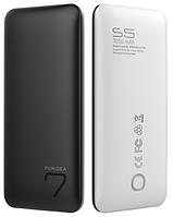 Портативное зарядное устройство Puridea S5 7000mAh Li-Pol Rubber Black & White