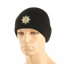 M-Tac шапка Полиция тонкая вязка 100% акрил Black L/XL