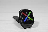 Наручные смарт часы Smart Watch T500 (умные часы с подключением к телефону) чёрные, фото 2