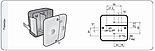 Блок-фара задня Wesem LT1.06727 4-х функціональна 98x103x50 мм, фото 6
