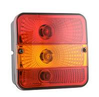 Блок-фара задня Wesem LT2.26600 розмір 140x140x81 мм