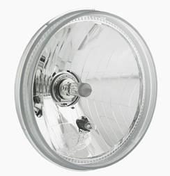 Фара головного світла Ø 177 мм на Волгу, Ниву Wesem PES4.48950 (ближній, дальній, габаритний)