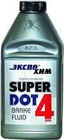 """Тормозная жидкость  1000ml  Dot-4  """"Экспо Хим"""" Super"""
