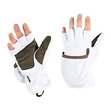 M-Tac рукавички безпалі з клапаном Winter 270 White L/XL