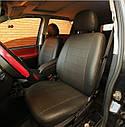 Авточехлы Audi А4 B7 Avant 2004-2007 (Экокожа) Чехлы в салон Черные, фото 3