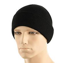 M-Tac шапка тонкая вязка 100% акрил Black L/XL