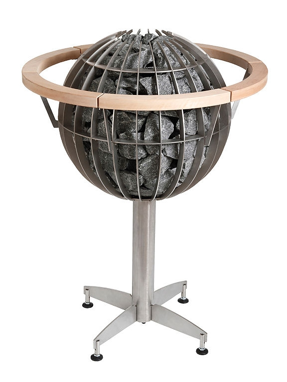 Электрокаменка Harvia Globe GL110, 10.5 кВт вес камней 80 кг парная 15 м.куб с пультом