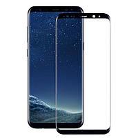 Защитное стекло 3D на весь экран для Samsung Galaxy S8, фото 1