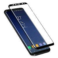 Защитное стекло 3D на весь экран для Samsung Galaxy S8 Plus, фото 1