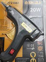 Пистолет термоклеевой  SIGMA  20 Вт стержень - 8 мм