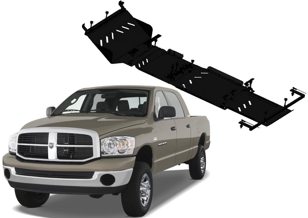 Защита двигателя Dodge Ram 2002-2009