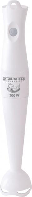 Погружной блендер Grunhelm EBS-301P с низким уровнем шума и мощностью 0,3 кВт