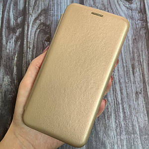 Чехол книжка с магнитом для Meizu M5 эко кожа подставка чехол книга на мейзу м5 золотая