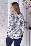 Пижама брючная П1201 Лилии, фото 3