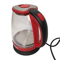Чайник Электрический с подсветкой BITEK BT-3110 красный