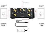 HIFI Bluetooth 5.0 Цифровий підсилювач звуку TPA3116D2 50WX2 Стерео Домашній кінотеатр USB TF В корпусі, фото 2