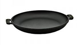 Крышка-сковорода чугунная с двумя ручками 45 см 0045