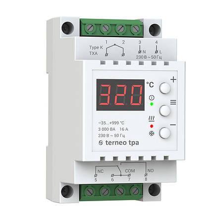 Терморегулятор для высоких температур terneo tpa без датчика, фото 2