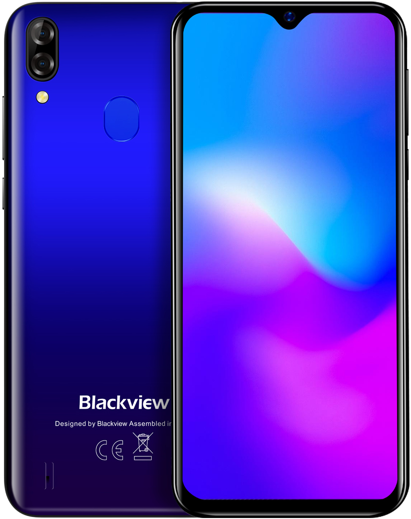 Blackview A60 Plus   Синий   4/64 Гб   4G/LTE   Гарантия
