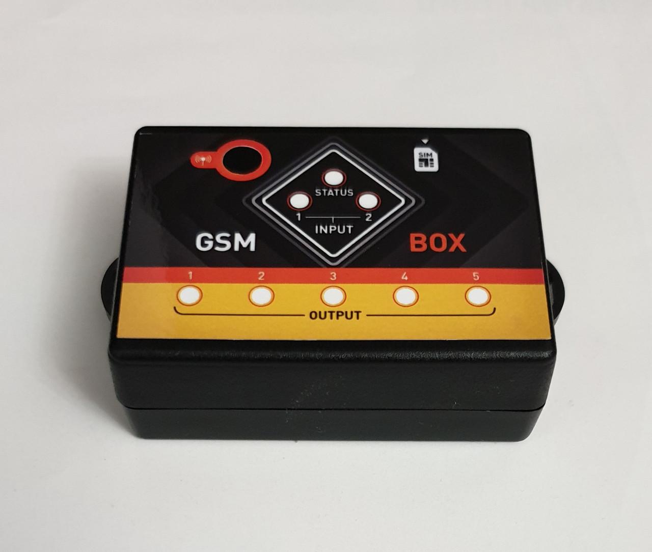 GSM реле для удаленного управления через телефон (SMS и по звонку) - Одноканальное